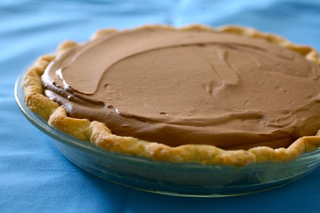 Chocolate Silk Pie for Pi Day » Annie's Eats