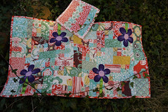 Jenna Excell, Charmed Living Runner #2 (SewHappyGeek) Tags: quilted applique tablerunner