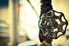 Turn Me On (Chris Nitz) Tags: old water wisconsin iso200 nikon rust gate antique fineart plumbing housework madison valve tamron f40 2011 digitalfineart d90 1750mm