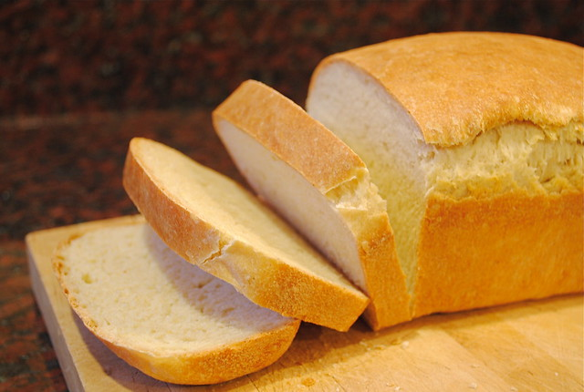 Sliced Sandwich Bread
