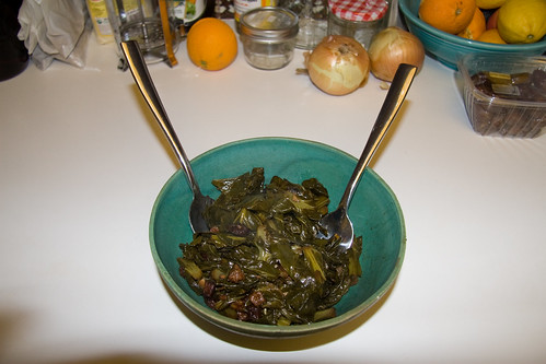 Finished Collard Greens