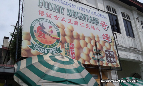 Funny Mountain Soya Bean, Ipoh