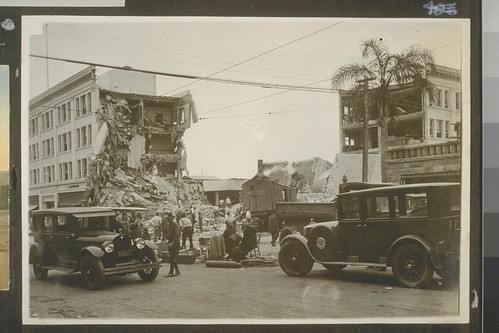 Earthquake Santa Barbara 1925 OAC 8