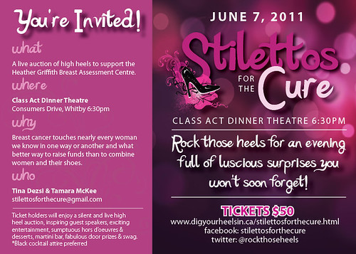 Stilettos for the Cure