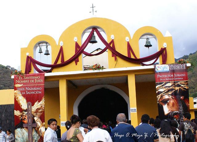 Visita a la Velación de la Iglesia de Santa Catarina Bobadilla