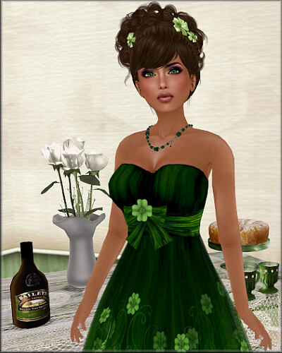 Green LUCKY Lolita