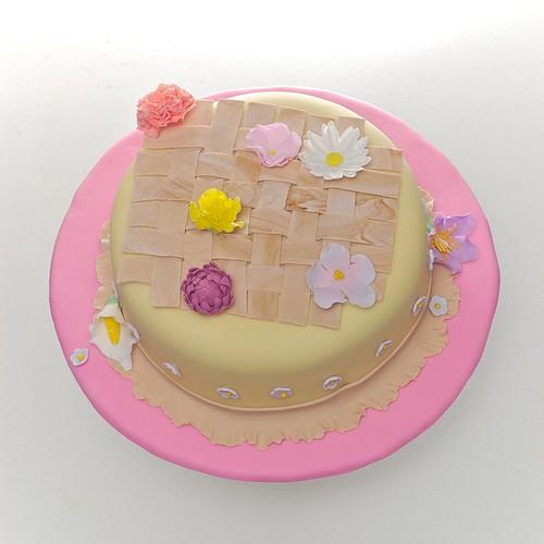 Spring Flowers Cake by xara_