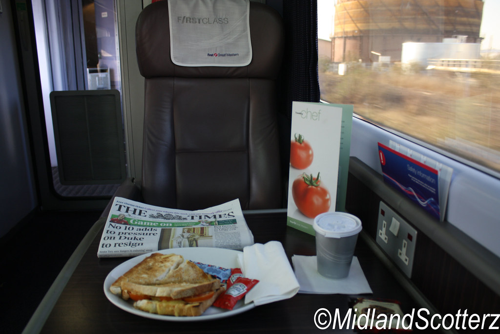 First Great Western HST Mark 3 First Class Travelling Chef