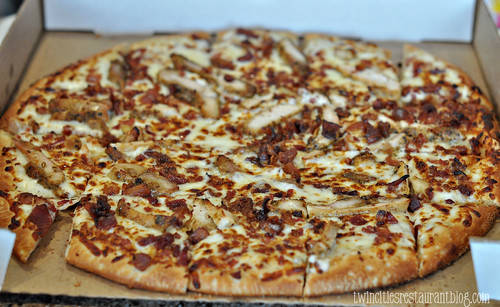 Chicken Bacon Ranch Pizza at Criss Cross Pizza~ Vadnais Heights, MN