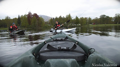 Moving on (Nicolas Valentin) Tags: light sky cloud lake fish clouds landscape freedom scotland boat fishing scenery europe kayak alba scenic kayaking loch lomond lochlomond ecosse kayakfishing aplusphoto kayakscotland kayakfishingscotland