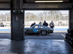 2016 Donington Park test: Aston Martin Project 214 (8w6thgear) Tags: 2016 doningtonpark test astonmartin project214 sportscar paddock pitlane