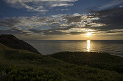 Homestretch DSL8937 (iloleo) Tags: sunset sun summer capebreton novascotia landscape coastline clouds scenic nature colourful nikond7000 mabouhighlands