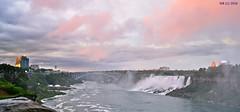 DSC_0502n wb (bwagnerfoto) Tags: niagara falls usa canada river flus foly bridge brcke border cities water waterfall wasserfall vzess evening outdoor nature sunset clouds landscape landschaft tjkp cityscape