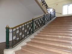 Vienne, Autriche: au MAK. (Marie-Hélène Cingal) Tags: autriche austria österreich vienne vienna wien fer iron escalier escaleras scala treppen stairs