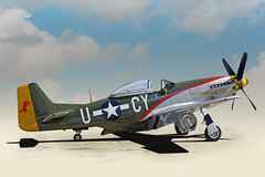 Gunfighter - P-51 D Mustang - In Explore (Brad Harding Photography) Tags: mustang gunfighter gardner kansas commemorativeairforce p51d airshow wwii usaaf mightyeighthairforce 343rdfightersquadron 55thfightergroup 8thairforce dday explore aviation normandy