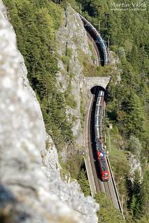 1116 + 1116.003 ÖBB, Breitenstein - Wolfsbergkogel (Austria)