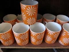 Orange Mugs (conversecrazy4) Tags: orange brooklyn colorful warmcolors