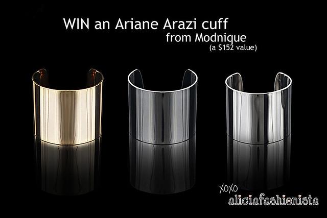Ariane Arazi giveaway