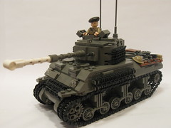 "Canadian Sherman Firefly IC (""Rumrunner"") Tags: army ic tank lego wwii canadian ww2 armour armored firefly m4 sherman worldwar2 allies 1c"