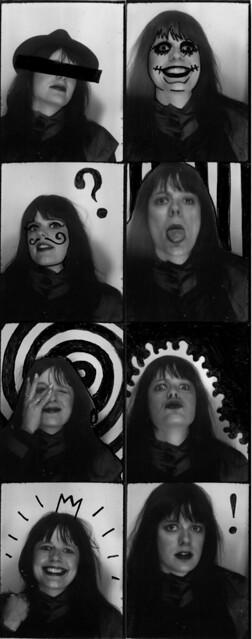 Selvportrett fra fotoautomat