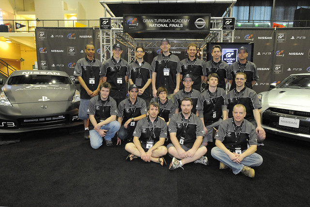 GT Academy Finalists