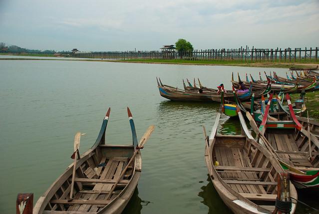U Bein's Bridge, Amarapura, Myanmar