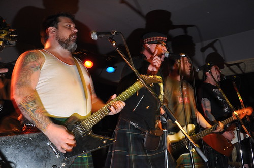 The Real McKenzies at Mavericks