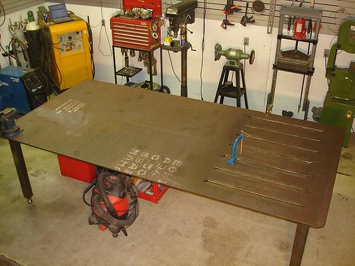 Got My Welding Table Done Pics Miller Welding