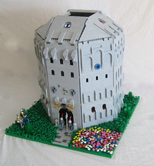 Dawn Dome Keep (LegoLord.) Tags: castle lego octagon