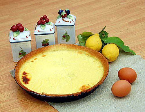 Torta meringata al formaggio