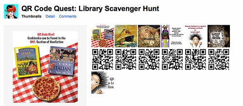 QR Code Quest a Library Scavenger Hunt – Library Scavenger Hunt Worksheet