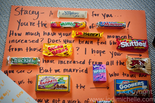 How to: Make a candy board