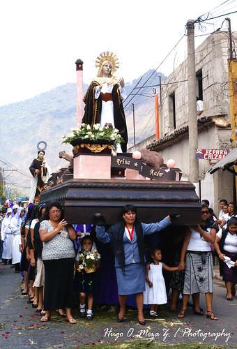 Procesión de la Iglesia de Jocotenango Sac05.