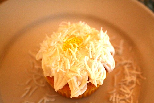 Daisy cupcake, take four