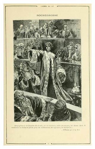 008-El hombre que rie 2-Cent dessins  extraits des oeuvres de Victor Hugo  album specimen (1800)
