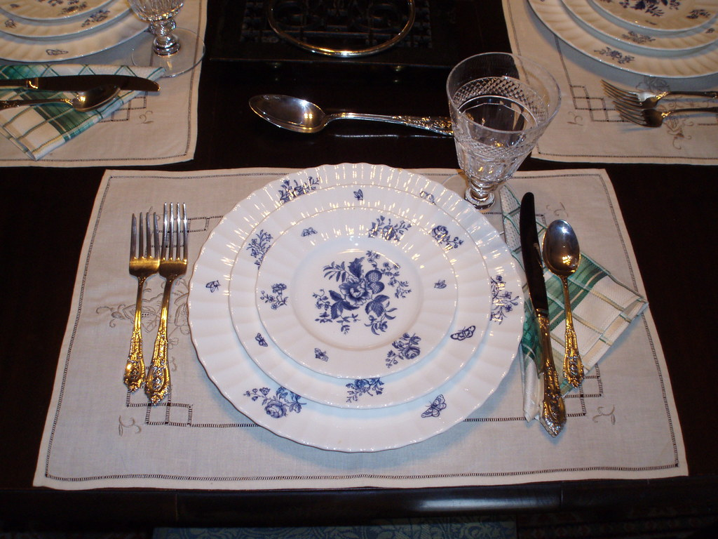 Thrift Shop Table Settings.