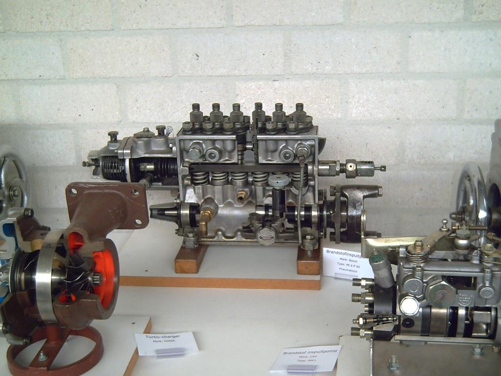 Cutaway injector pump 01