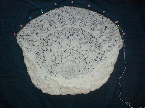 Evenstar Shawl, Clue 5 Complete