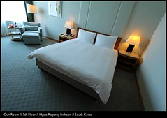 Comfortable Arrival // Our Room // 7th Floor // Hyatt Regency Hotel // Incheon // South Korea (|| UggBoyUggGirl || PHOTO || WORLD || TRAVEL ||) Tags: birthday girls people dublin streetart men cars amsterdam architecture breakfast dinner lunch bathroom hongkong mercedes airport bed rooms traffic candid watch transport landmark facades taxis explore more frenchtoast icecream seoul bmw parkhyatt taipei taipei101 ritzcarlton kia suite klm cocktails hyundai jeju icc schiphol taoyuan buddhisttemple grandhyatt roomservice bentley aerlingus intercontinental incheon coex lotte discover gimpo cathaypacific terminal2 hyattregency bongeunsa evaair teddybearmuseum citygate koreanair shilla regenthotel irishlove jungmunbeach regencyclub irishpride irishluck grandclub whotelhongkong thesherwoodhotel eliteconcepts
