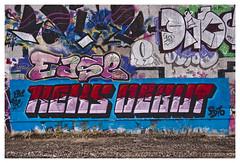 EASE + REKS DEBUT | Bispebjerg Turfin' (fonzi74/gbCrates) Tags: street city urban streetart art by copenhagen grit denmark graffiti paint raw alt kunst tag graf tags gritty can spray nv gb vest rough cph aerosol nrrebro danmark ruff christensen emil alternative nord crates debut chr spraycan ease nordvest frederik grimey reks grimy bispebjerg tagz 2400 alternativ hyer fonzi74 gbcrates hyerchr sprjtemaling