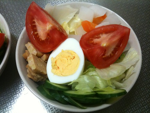 朝食サラダ(2011/4/5)