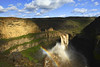 Intangible (Deby Dixon) Tags: sunlight tourism nature clouds outdoors photography waterfall washington rainbow travels nikon canyon adventure funtimes deby allrightsreserved palouse 2011 palousefalls debydixon debydixonphotography