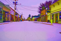 La Conner as Art (dschultz742) Tags: county winter snow art photo washington state skagit vr laconner skagitcounty f3556g 1685mm davidschultzphotographycom photoshopniko