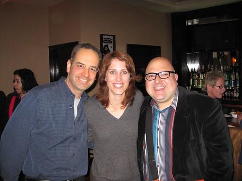 Bob Montgomery, Erin Foley, Frank DeCaro