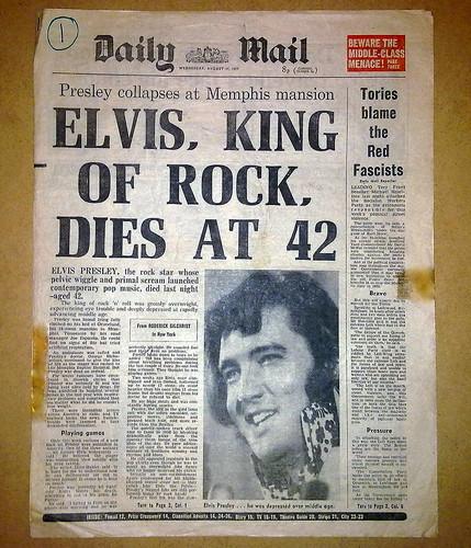 Elvis Presley Death Ne...