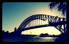 Harbour Bridge (Newbies Photography) Tags: city bridge sunset point sydney australia nsw pont harbourbridge milsons australie bestofaustralia touraroundtheworld