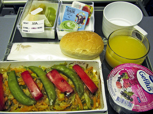 copenhagen kitchen: eating on singapore airlines