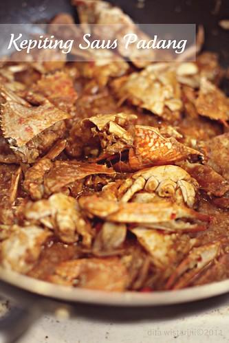 Chili Crab (Kepiting Saus Padang)