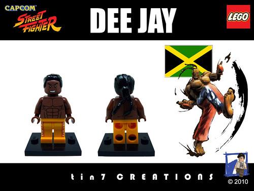Custom minifig #15 - Dee Jay custom minifig