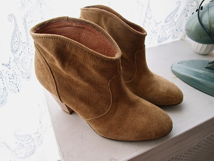 topshop antique boots